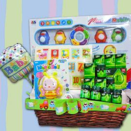 Baby Gift set with Musical Mobile