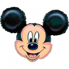Add On Mickey Mouse Helium Balloon (Head Only)