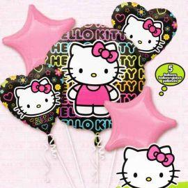 Add On Hello Kitty Balloon Bouquet (5pcs)