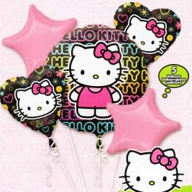 18inces Helium Filled (Hello Kitty Bouquet) Mylar Floating Ballo