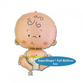 Add On Baby SuperShape Foil Balloon