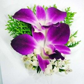 Dendrobium Orchid Corsages ( Add-On Only, No Delivery )