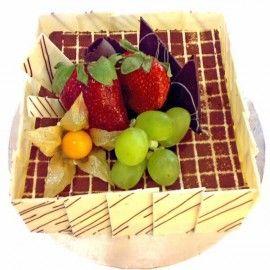 """Fruitti Square"" Sponge Cake 1 Kg"