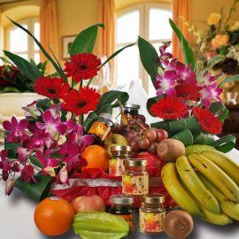Fruits, Flower with Chicken Essence & Bird's Nest Halal