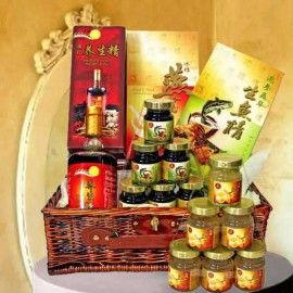 Halal-Hamper of Bird's nest, Essence of Fish With Herbal Health