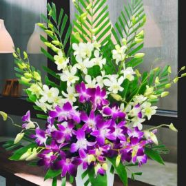 Orchids Table Arrangement