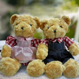 Add-on 30cm couple Bear