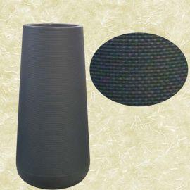 "Add-On 33"" Height Black Plastic Pot 30 diameter x H83cm"