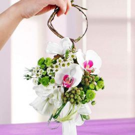 Phalaenopsis Orchids Special Wedding Bouquet