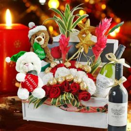 Santa's Treasure Box Gift Hamper