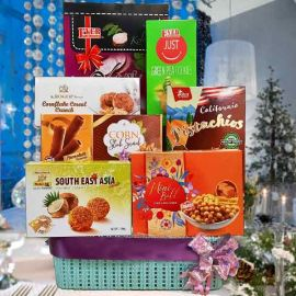 Red Christmas Gift Hamper