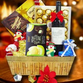 Christmas Red Wine Hamper